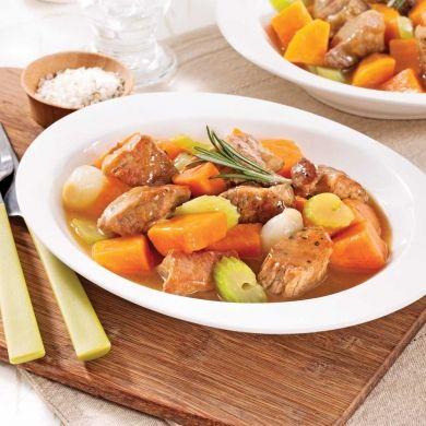 Mijoté de porc à la patate douce - Recettes - Cuisine et nutrition - Pratico Pratique