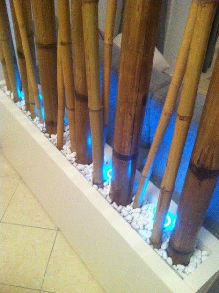 bamboo room divider diy lack hack