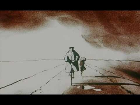 Father and Daughter (2000) animated short film written and directed by Michaël Dudok De Wit. Music by Normand Roger and  Denis L. Chartrand.
