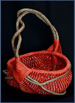 "♥¸.•*""""*•.¸❤¸❤ ""♥(✿◠‿◠)˙·٠•●♥❤ ƸӜƷ·.¸¸.·´¯`·.¸¸.♥ ƸӜƷOrange Basket by Tina Puckett"
