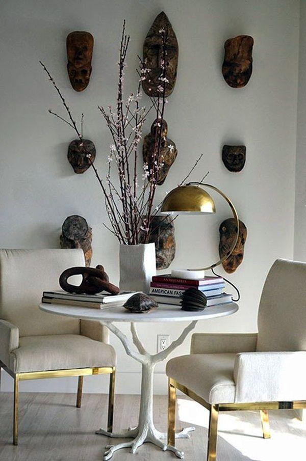 40 African Masks Wall Decoration Ideas Interior