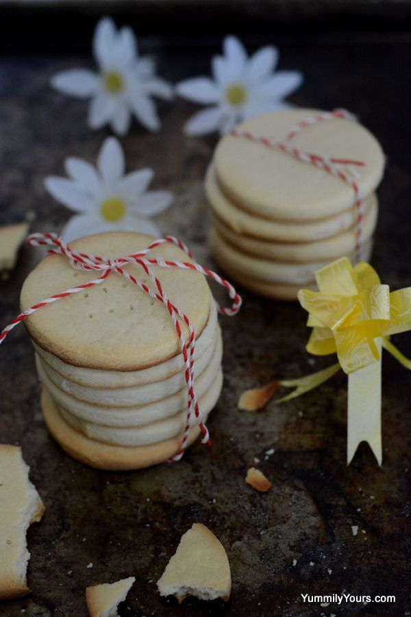 4 Ingredients, 25 min, A classic English dessert, The world famous Shrewsbury Biscuits.