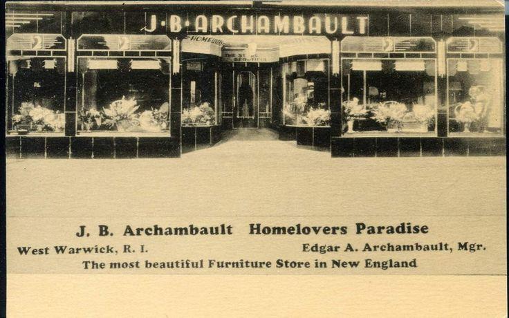 J B Archambault West Warwick Beautiful furniture, West