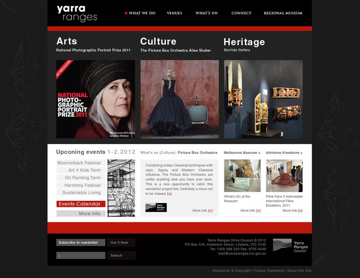 Yarra Ranges Arts Culture Heritage