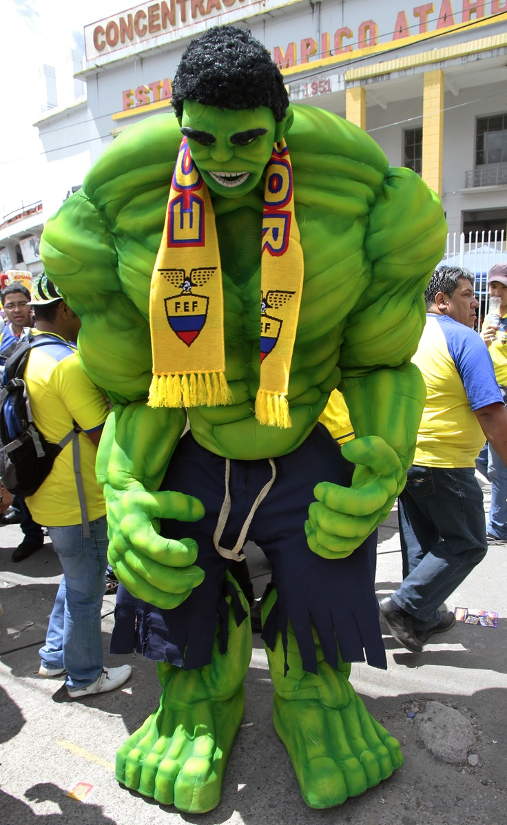 Hulk también presente para el encuentro Ecuador - Argentina.