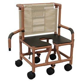 Wood Tone Bariatric Shower Chair 26″ Internal Width (6- 5″ Twin), Double Drop Arm, and Full Support Seat with Commode Opening, 600 lb Wt. Cap. Product Features Manufactured Of Health Care Grade Polymer Plastics which are Phthalates and Lead Free; Contoured Frame- No Sharp Edges to Avoid Skin Breaks Wood Tone PVC Frame Anti Bacterial, […]