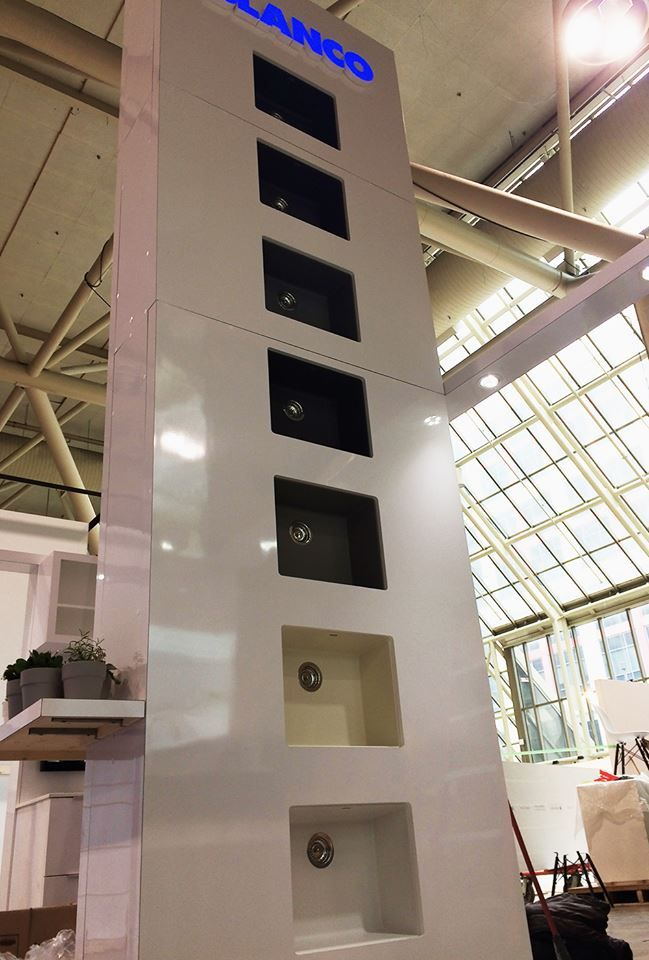 Our SILGRANIT® sink tower #IDS16