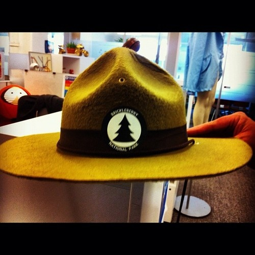 The official Brickleberry campaign hat
