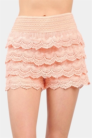 {Cupcake Shorts - Peach} these are too cute! great under a mini skirt/dress too!