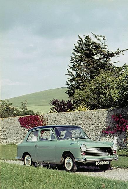 1961 AUSTIN A40 MKll - design by Carrozzeria Pinin Farina of Turin.