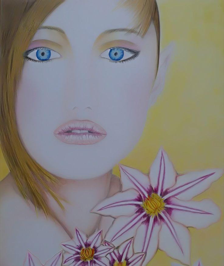 Dipinto a pastello realizzato da: fb Ivo io vivo ora
