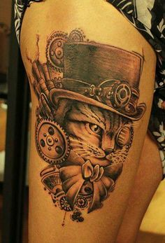 Freakishly Adorable Cat Tattoos - Tattoos of the Day