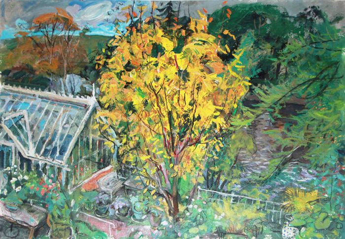 Yellow Leaves, September @ The Scottish Gallery
