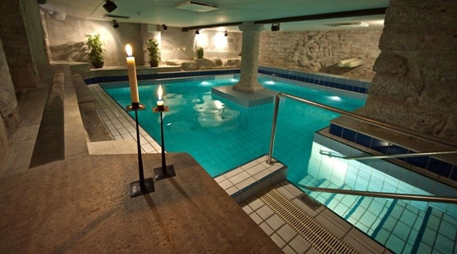 Clarion Hotel Wisby | Nordic Choice #spa #pool #wellness https://www.nordicchoicehotels.se/Clarion/Clarion-Hotel-Wisby/