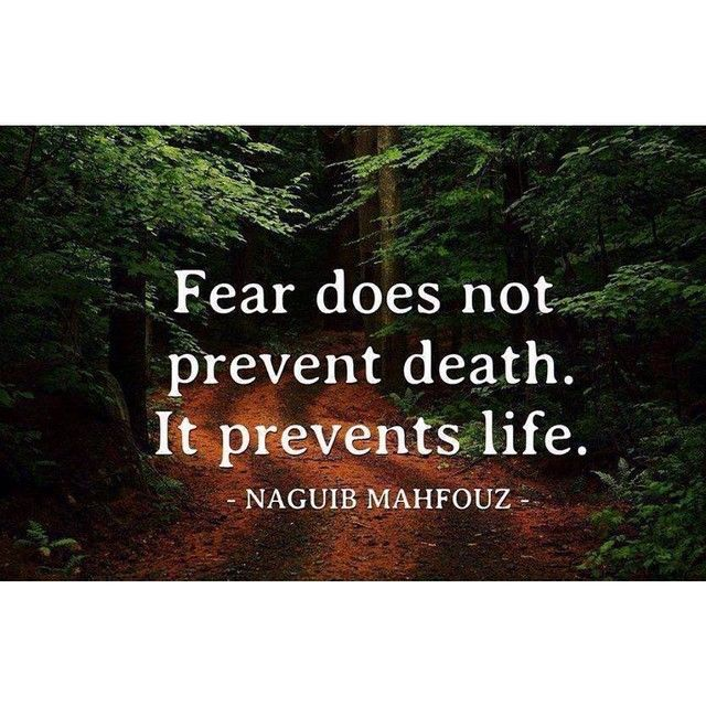Inspirational Quotes About Fear: 25+ Best Inspirational Death Quotes On Pinterest