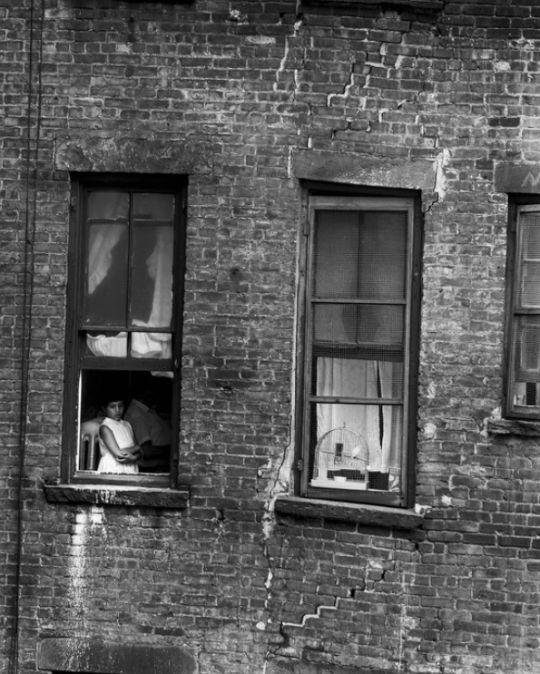 Bruce Davidson      East 100th Street, New York City      1966