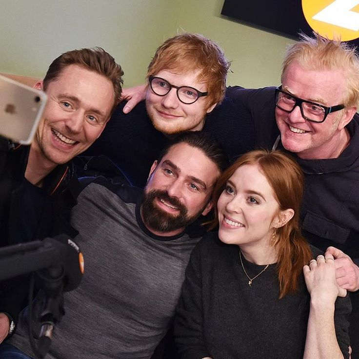 """bbcradio2: """"What a morning! What a show! Thanks for joining us @twhiddleston, @teddysphotos, @angelascanlon and @ant.middleton. That was fun! #radio2 #bbcradio2 #bbc #edsheeran #tomhiddleston #angelascanlon #antmiddleton #chrisevans #FridayFeeling"""" (https://www.instagram.com/p/BRLBgk4BFVo/ )"""