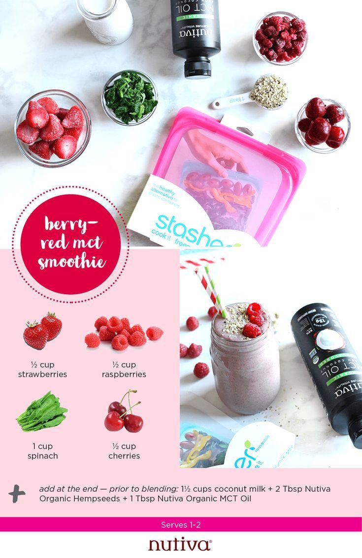 4 Simple Smoothie Prep Recipes #smoothie #recipes #berry
