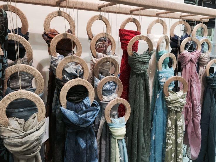 Karakorum  -  Preparazione Fiera Homi 2015  -  Sciarpe Nuova Collezione