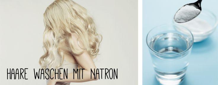 Haare waschen mit Natron