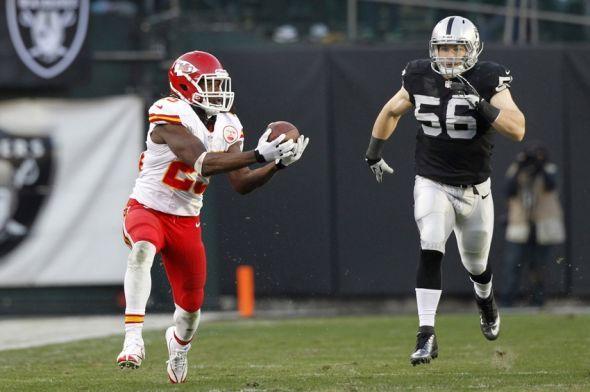 Oakland Raiders Schedule Week #12: vs. Kansas City Chiefs