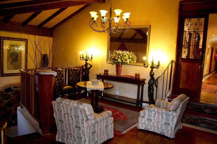 Reception area, casa toscana lodge