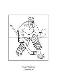 Puzzle hokejista