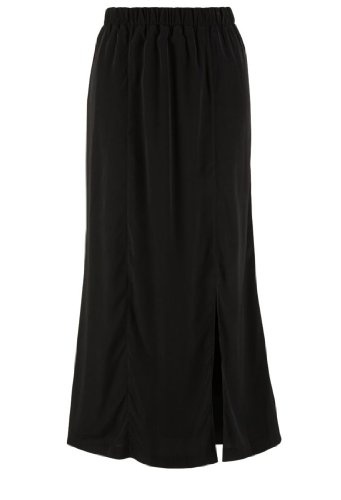 Avenue Plus Size Side Slit Maxi Skirt $29.99