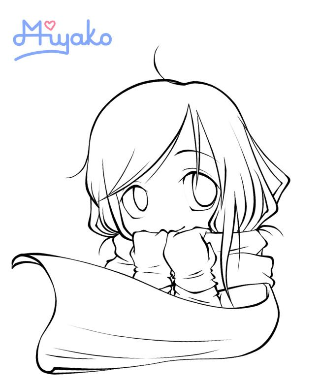 anime sisters coloring pages - photo#15