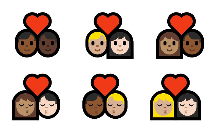 Windows 10 recebe emojis de casais inter-raciais e de mesmo sexo #timbeta #sdv #betaajudabeta