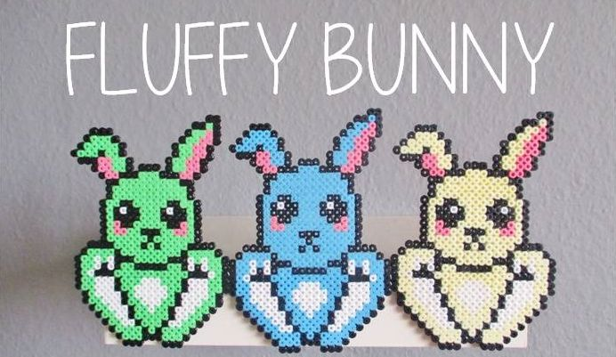 Hama Easter Bunnies!