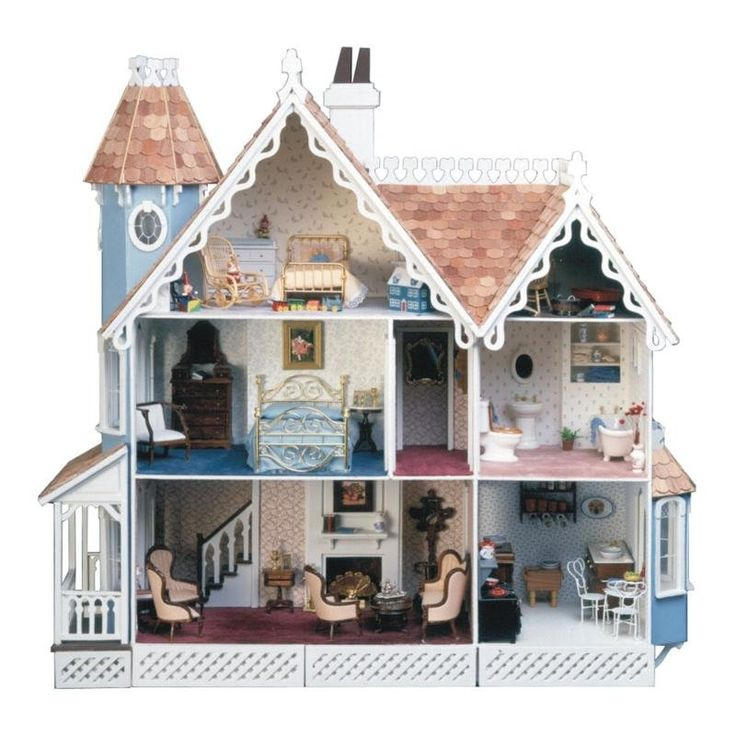Greenleaf McKinley Dollhouse Kit