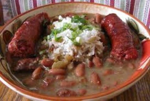 New Orleans Red Beans And Rice With Sausage Is Served On Monday In New Orleans. Here you will find the best recipe in the world for authentic Red Beans and Rice. This recipe is so very delicious.