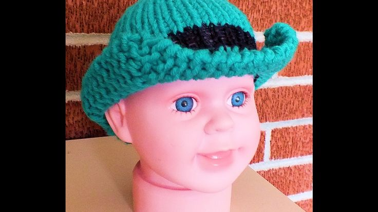 How to Loom Knit St. Patty's Hat