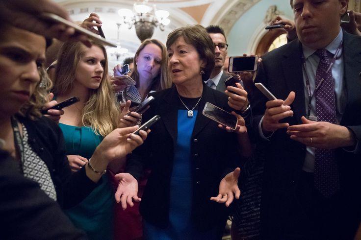 Sen. Susan Collins not ready to back Republican tax plan still seeking changes