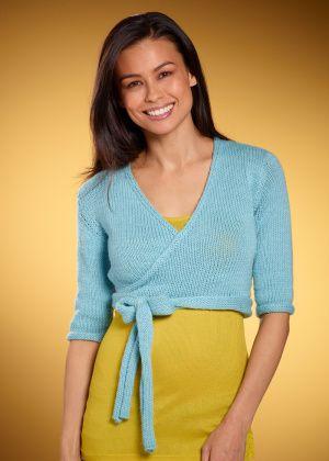 Free Knitting Pattern Ballet Wrap : Lion Brand Yarn Company