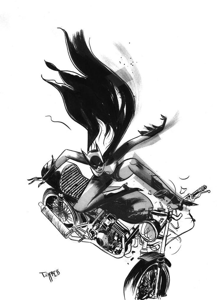 Batgirl by Toby Cypress