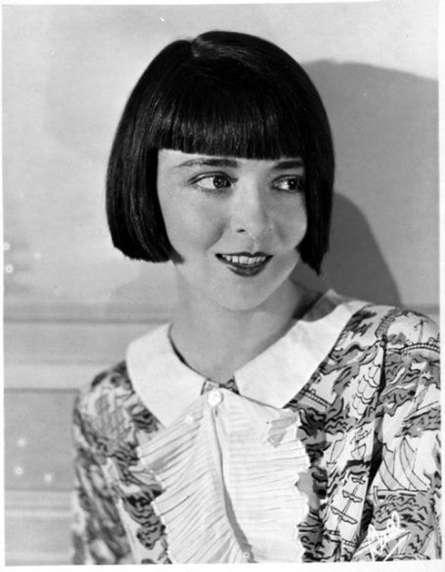 Colleen Moore - She had one blue eye and one brown eye.