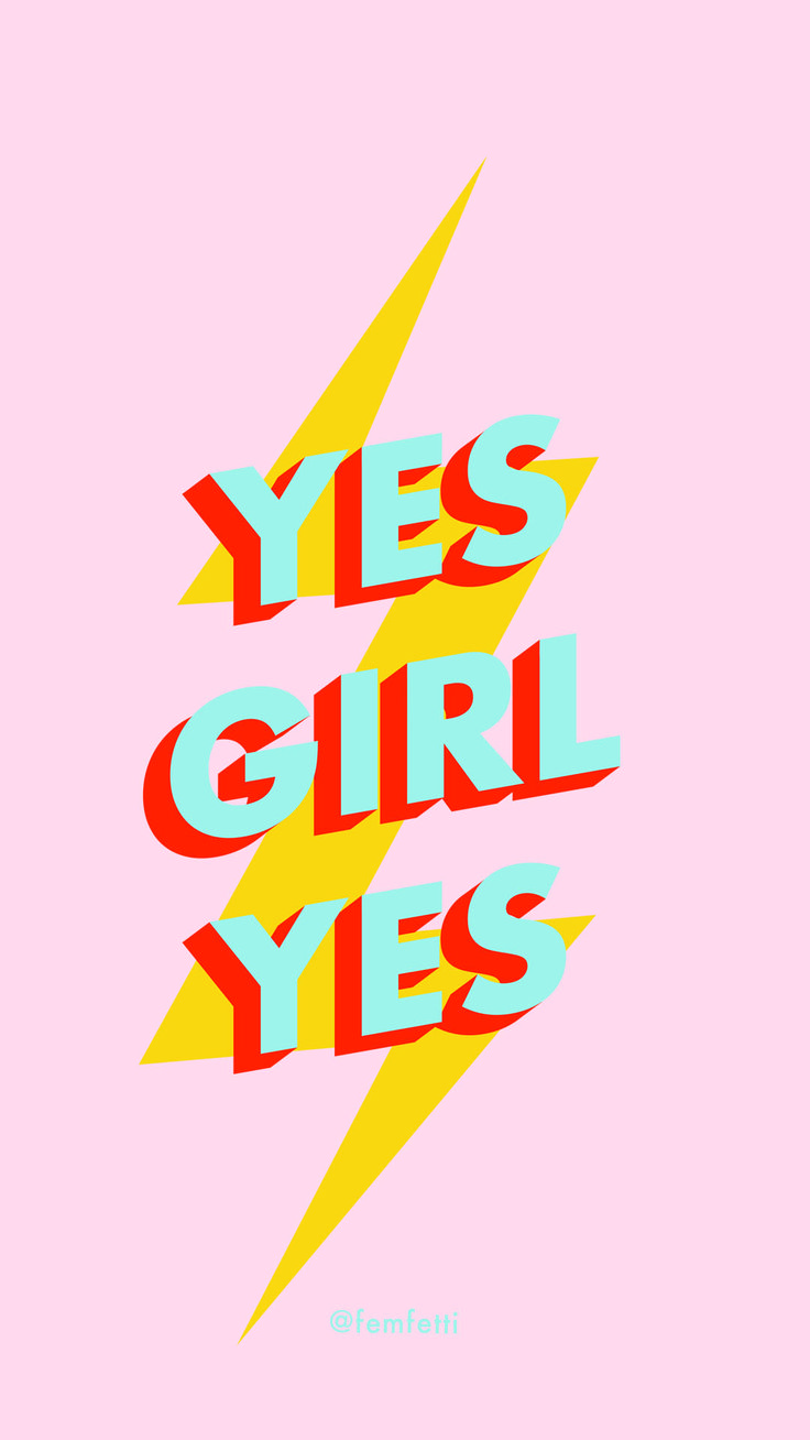 Yes Girl Yes Shirt iPhone X Wallpaper 22236591896155753 2
