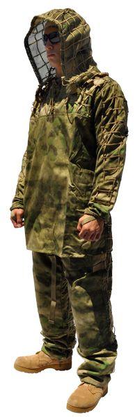 MAMBA костюм, A-TACS FG (Маскировочный костюм фонд)