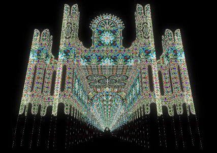 【終了】神戸の冬の風物詩!光の芸術作品が美しい「神戸ルミナリエ」今年も開催