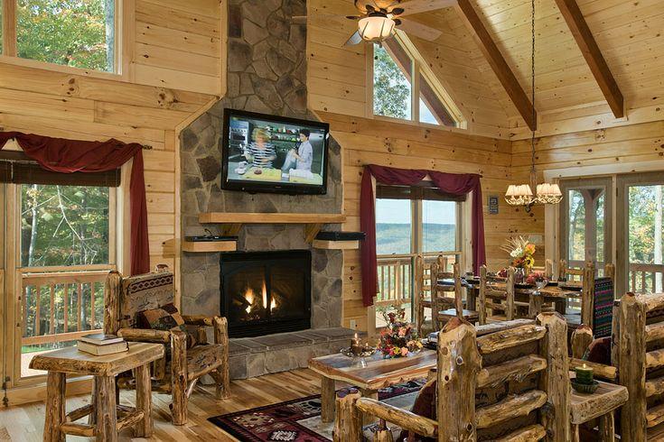 17 Best Images About Log Home Interior Designs Honest