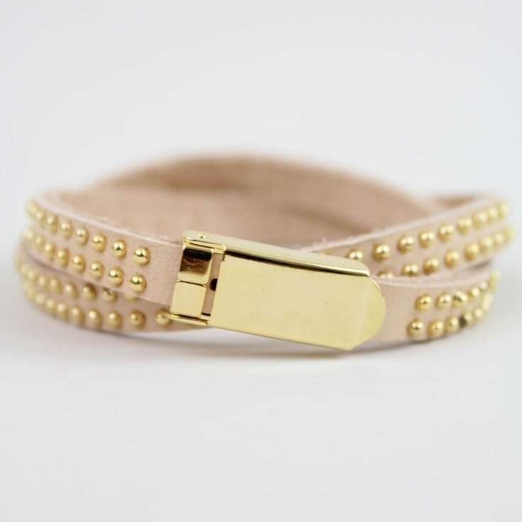 Nude Wrap Bracelet: Leather Wrap Bracelets, Wrap Bracelet 25, Shopdesignspark Com, Strap Bracelets, Faux Leather, Sparkle, Accesorize, Nude Wrap