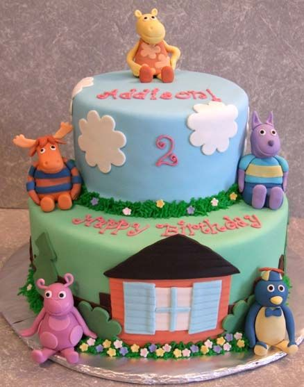 Smith says he wants a Backyardigan cake for his birthday.