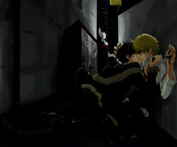 Heiwajima Shizuo x Orihara Izaya, Dagger, Kiss On The Lips