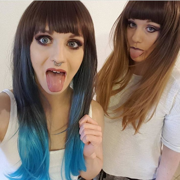 So cute  @vdw_lea And her sis in Blue Moon and Autumn Oak  #lushwigs #ombrehair #ombrewig #ombre #lushwig #hairtrends #gorgeous #alternativehair Both available now from: Lushwigs.com  #lushwigsbluemoon #lushwigsautumnoak #lushhair #bayalage #hairtrends #lushhair  #hairspiration (link in bio)