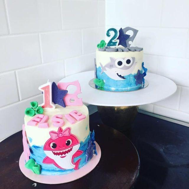 Brilliant Kids Birthday Cakes Wellington Order Online In 2020 Cake Shark Birthday Cards Printable Nowaargucafe Filternl