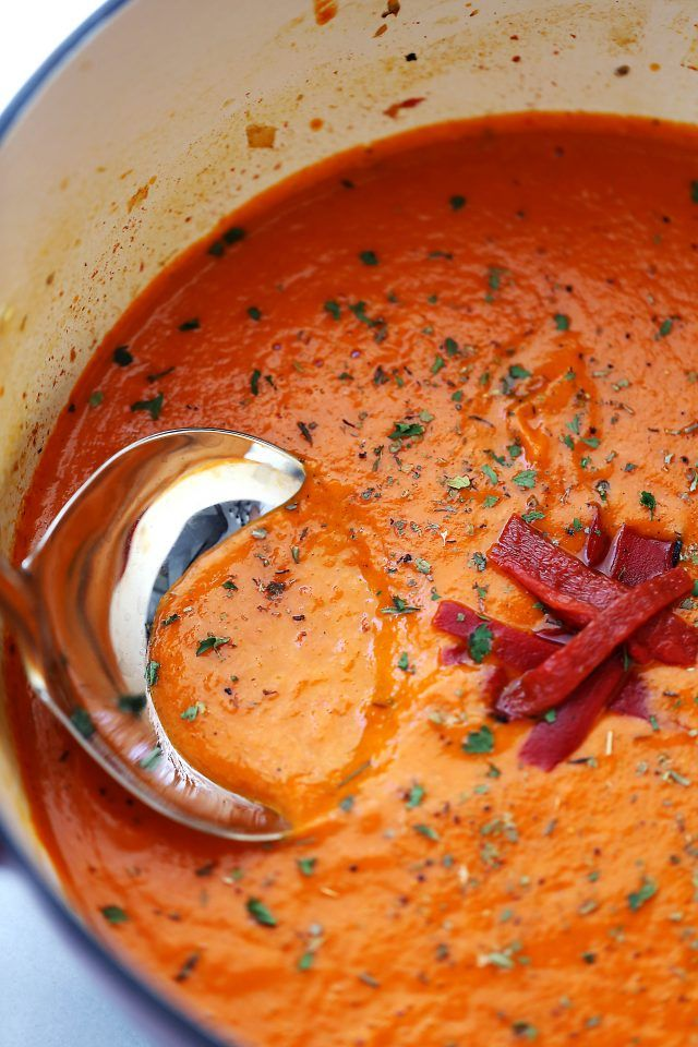 Tomato Soup Recipe - Flavorful, healthy, hearty, and easy to make soup ...