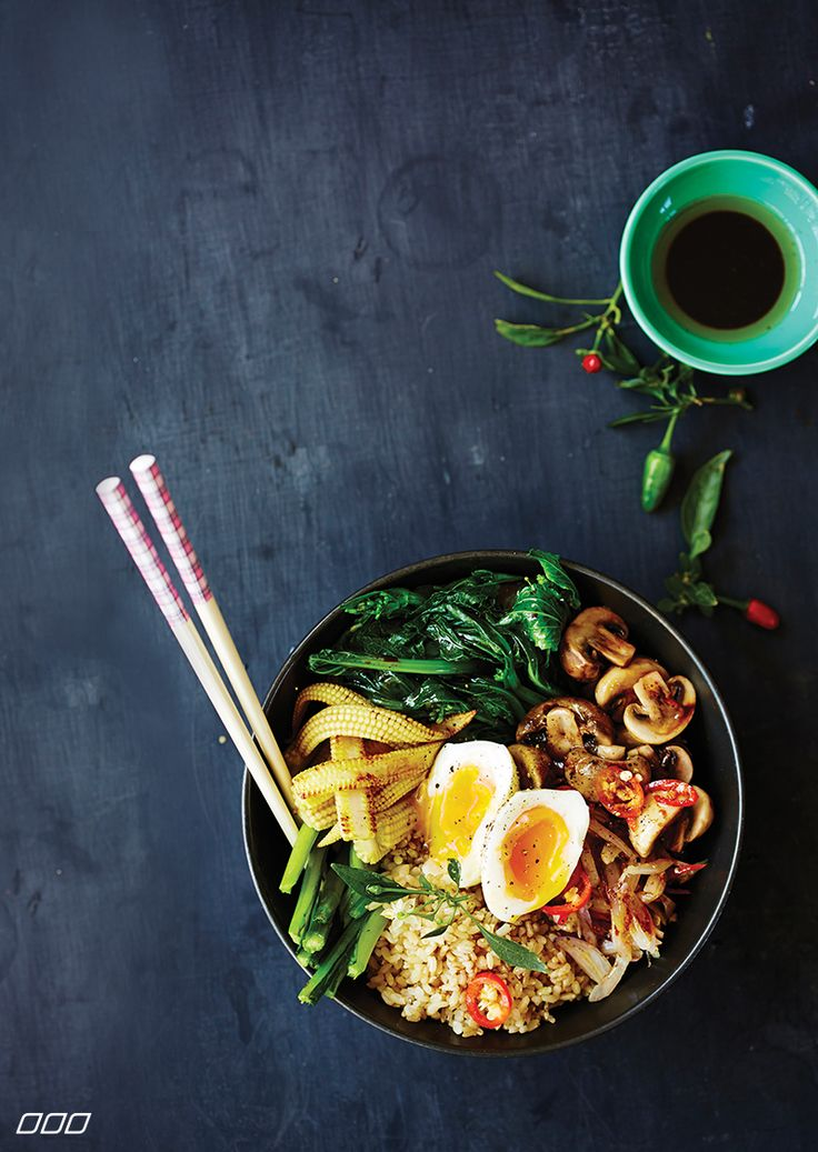 Brown Rice Nasi Goreng with Soft Boiled Egg  http://www.lornajane.com.au/CLEANSIMPL/Clean-and-Simple-Eating