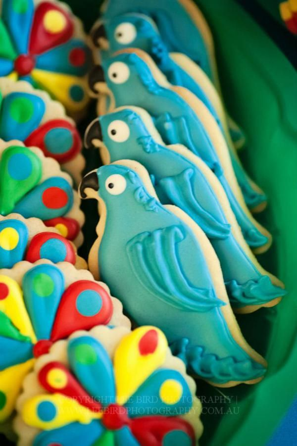 """Kara's Party Ideas """"Rio"""" Themed 4th Birthday Jungle, Bird Party   Kara's Party Ideas"""